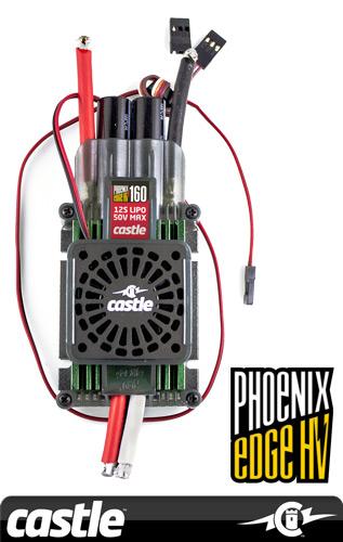 Phoenix EDGE HVF 160 Brushless Speed Controller ...