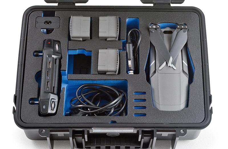 B/&W DJI Mavic 2 Pro /& Zoom incl Smart Controller Case 4000 black