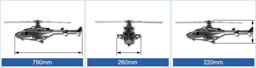 450 Scale Fuselage Align KZ0820115A - freakware