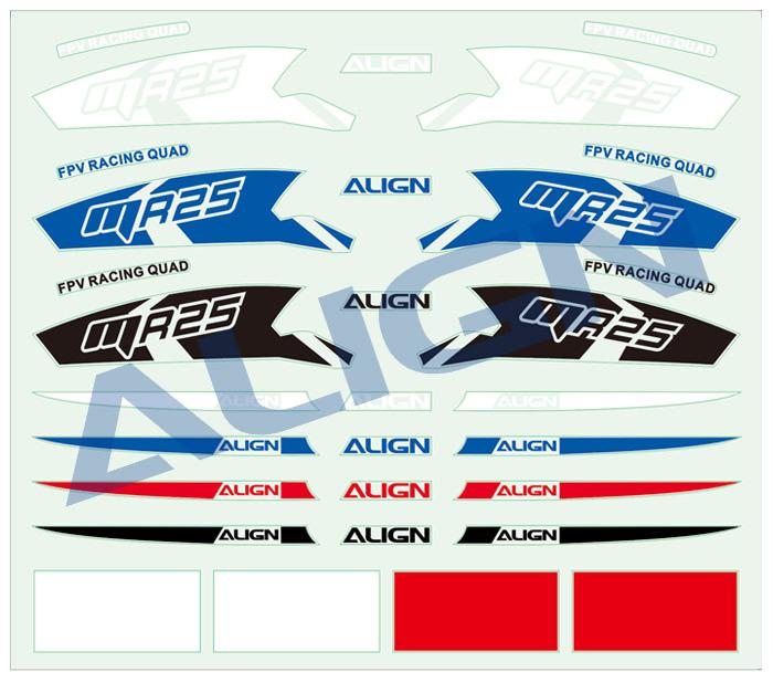 Mr25p V2 Fpv Quad Racer Super Combo Gr 252 N Align Rm42510xs